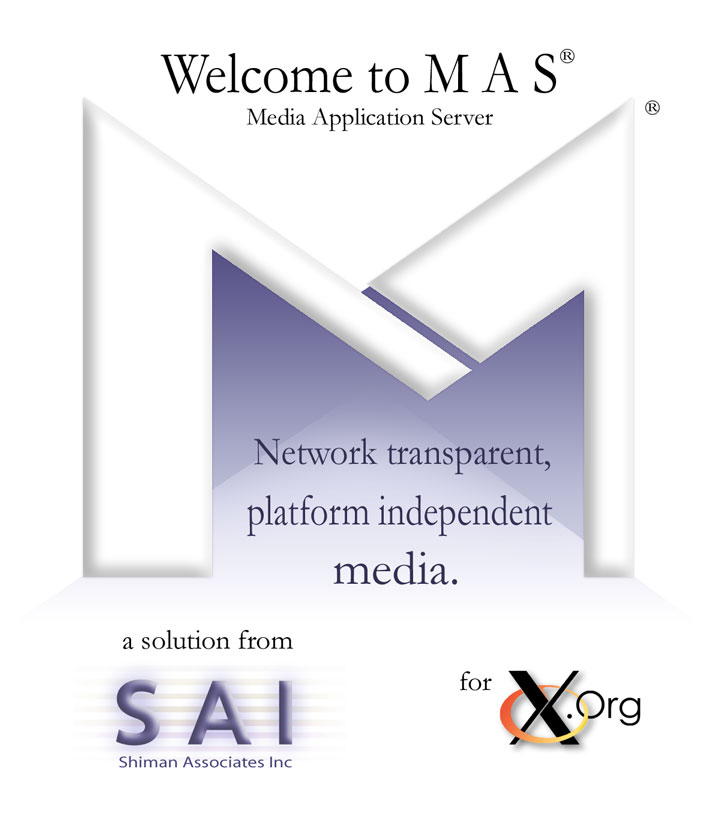 Welcome to MAS - Media Application Server